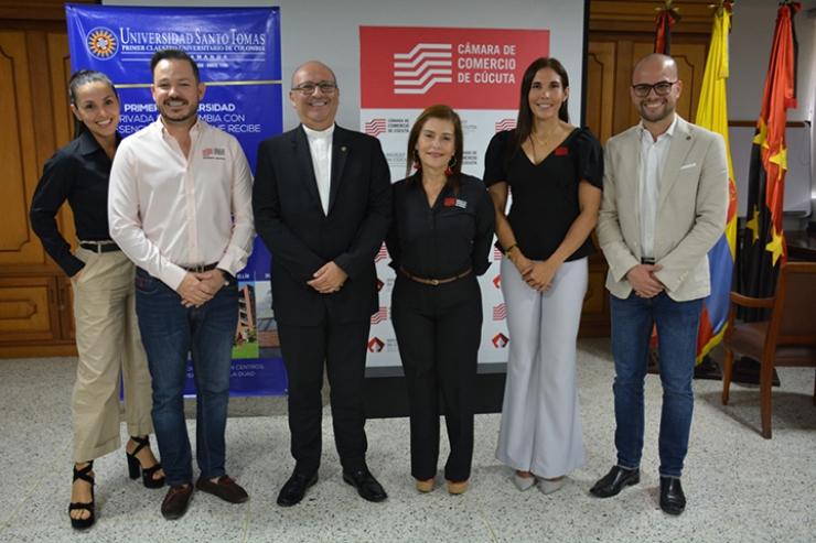Santoto Bucaramanga con Cámara de Comercio de Cúcuta estrenan alianza estratégica de cooperación | EL FRENTE