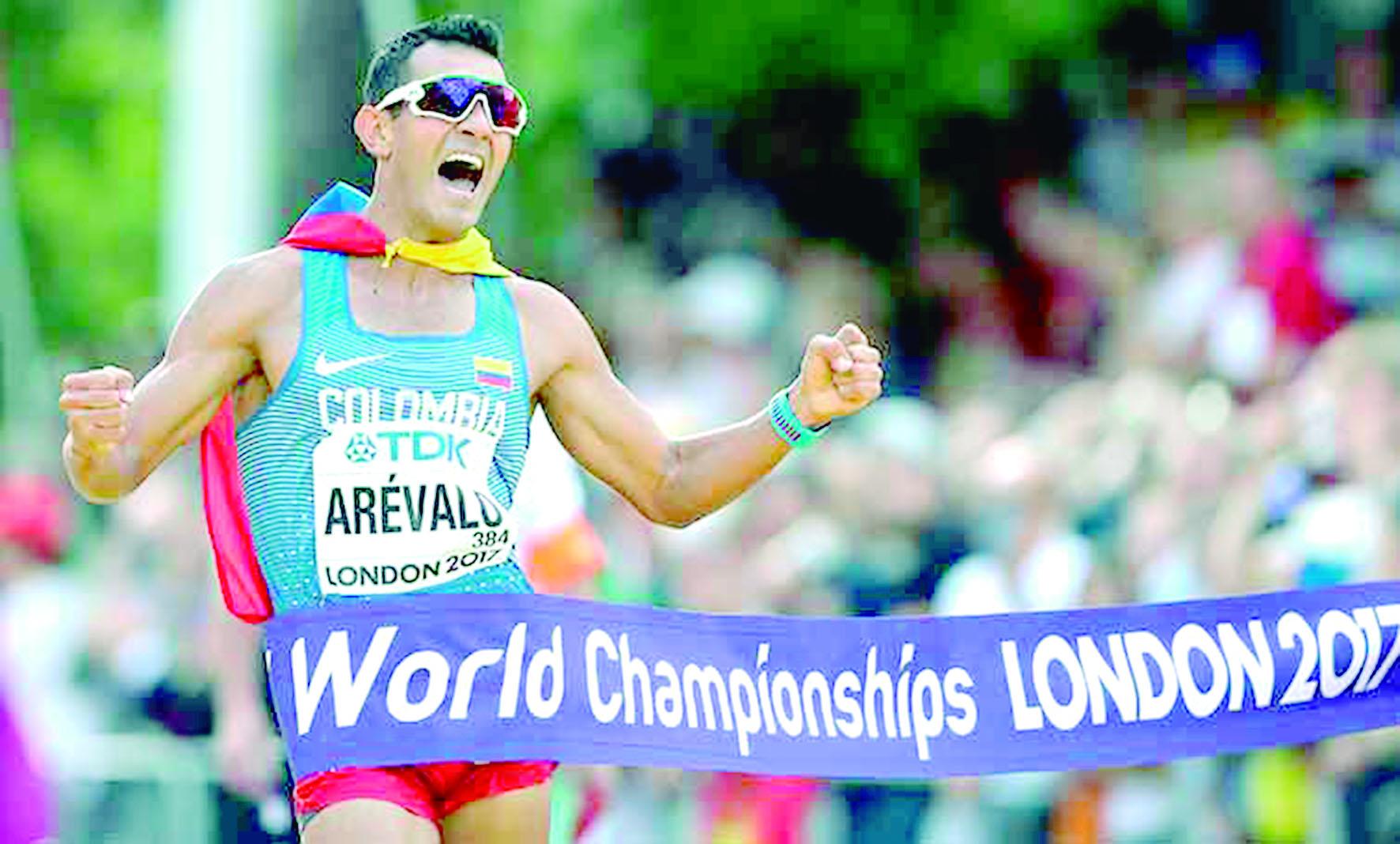Éider Arévalo se pierde el Mundial de Atletismo   EL FRENTE