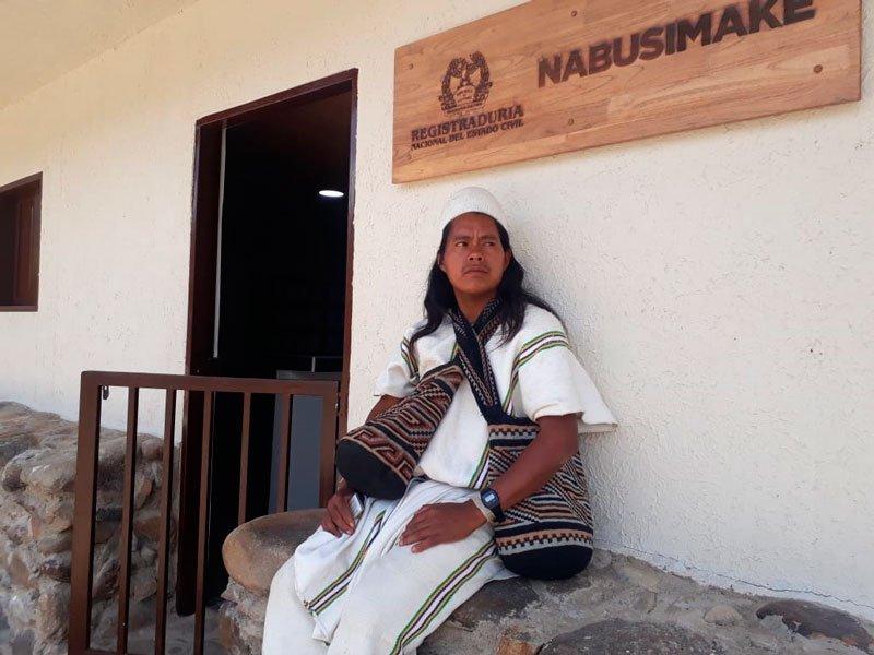 En servicio Registraduría para arhuacos de la Sierra Nevada   EL FRENTE