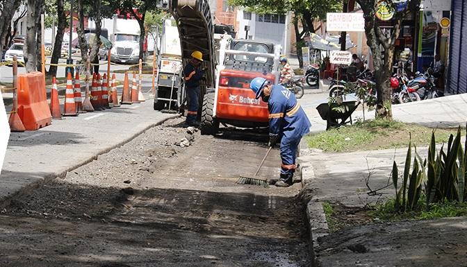 Mantenimiento de malla vial  llegó al 50% de su ejecución | EL FRENTE