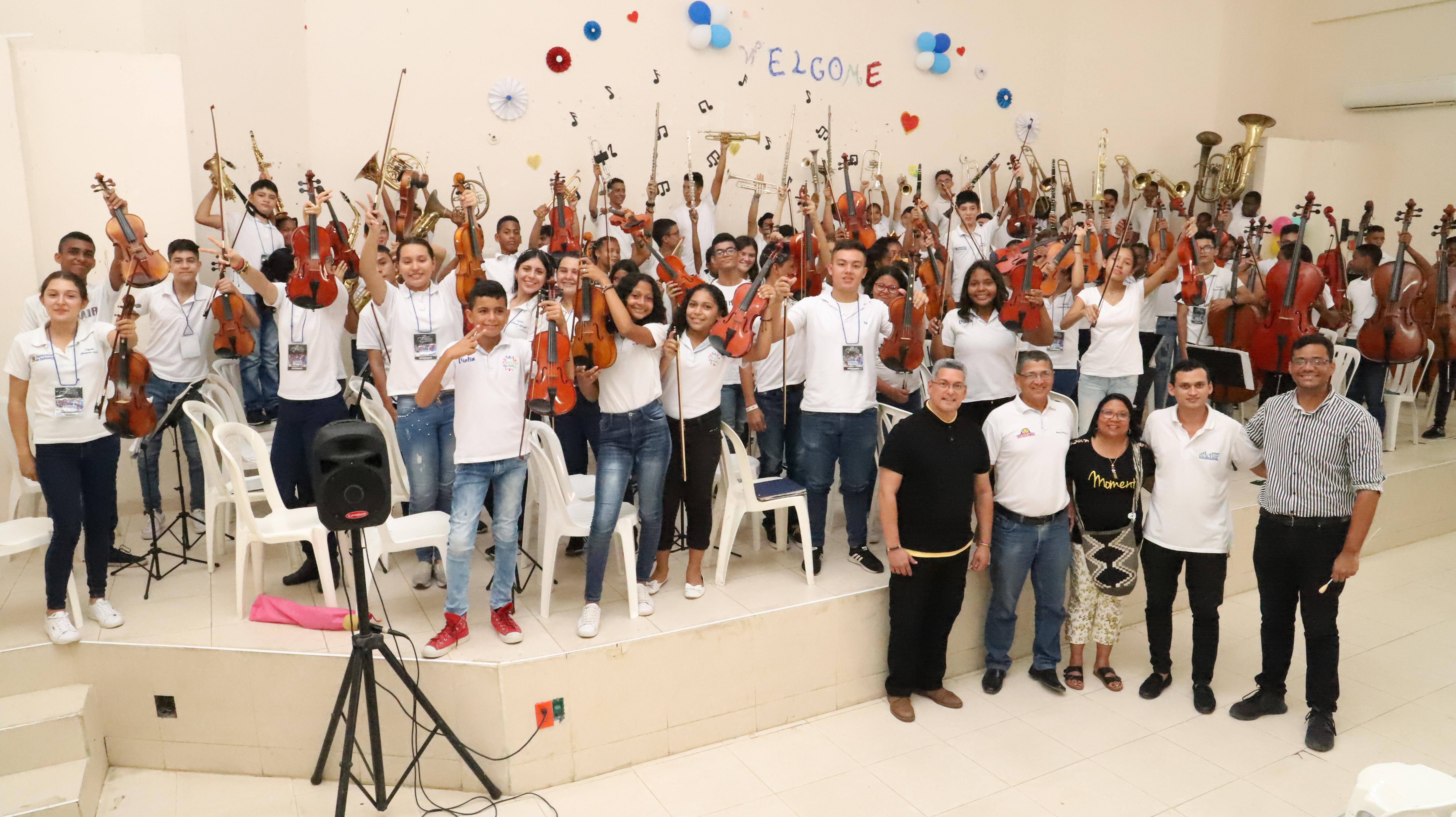 Filarmónica Infantil y Juvenil de la UDES. Presentación con notas altas en Cartagena   Educación   Variedades   EL FRENTE