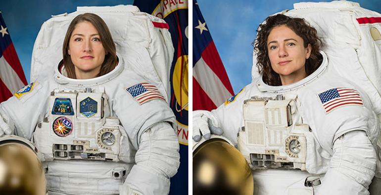 Dos mujeres estadounidenses protagonizarán la primera caminata espacial femenina | Mundo | EL FRENTE