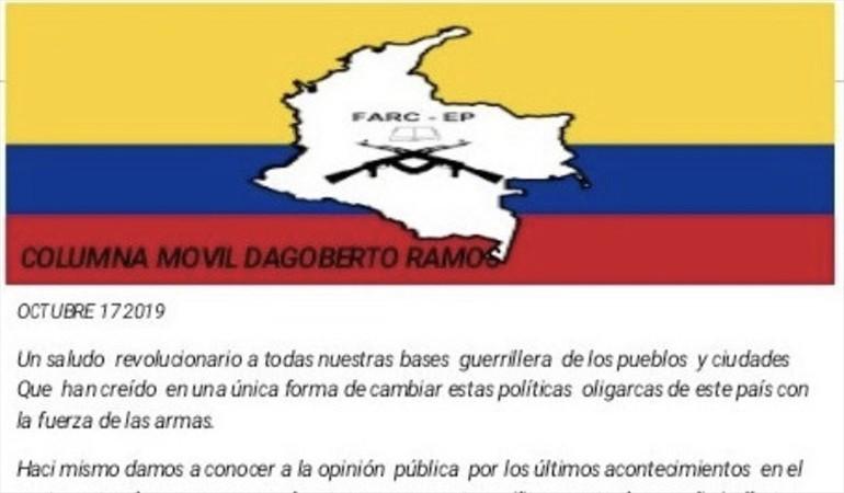 Nuevas amenazas de supuestas disidencias de Farc a líderes indígenas en Cauca | Nacional | Justicia | EL FRENTE