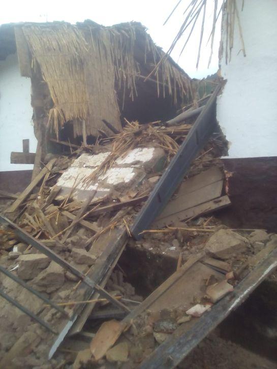 """Casa Museo """"Los Fundadores"""" de Matanza se convirtió en escombros   Santander   EL FRENTE"""