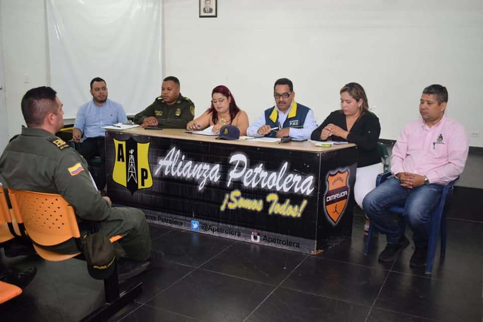 Prevención y seguridad. Mediadas para el partido Alianza Petrolera vs Deportivo Cali | EL FRENTE