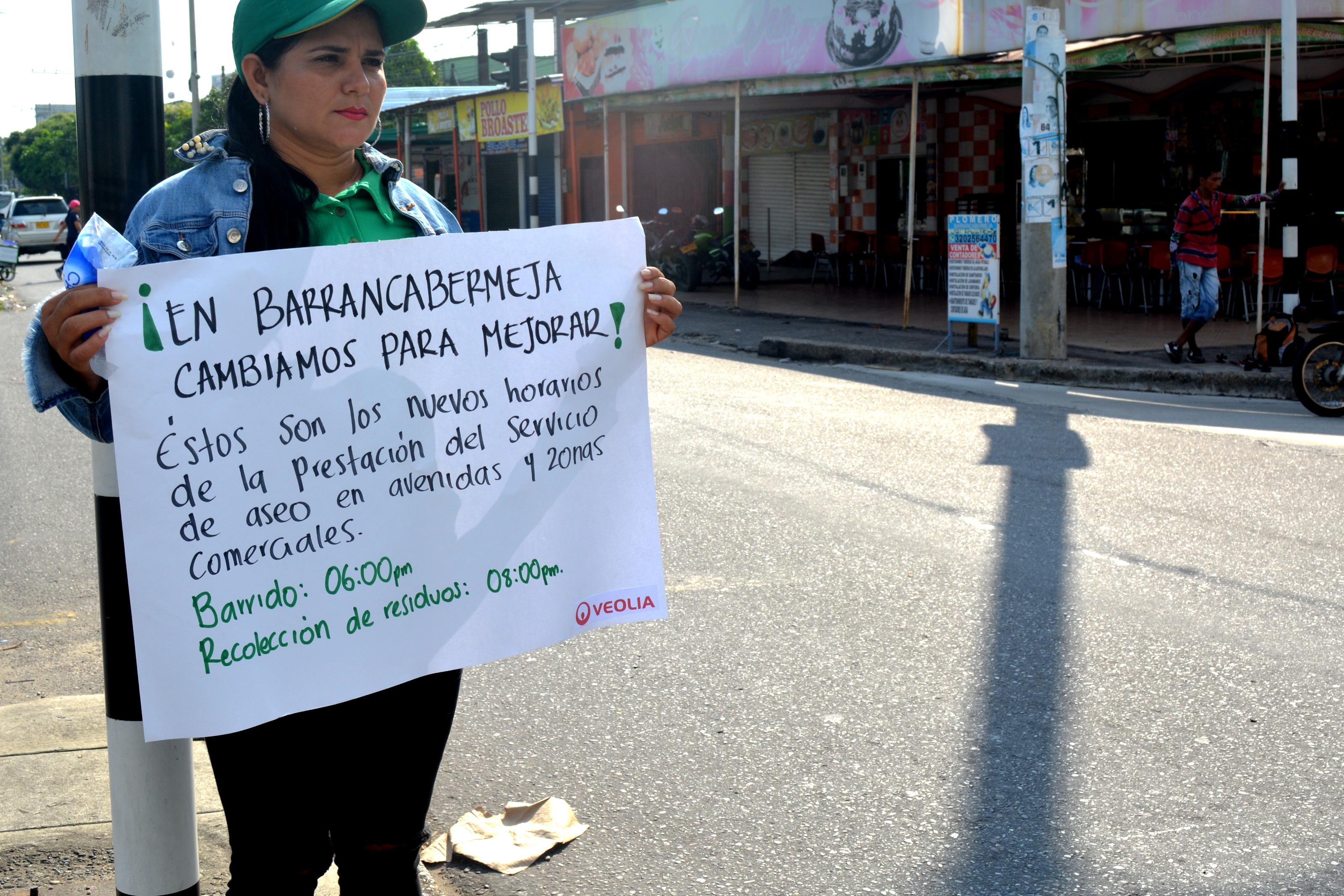 Jornada de limpieza en Barrancabermeja. Cambios para mejorar con la Gran Toma de la Avenida 52 | EL FRENTE