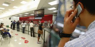 Ahora podrá usar el celular en bancos | EL FRENTE