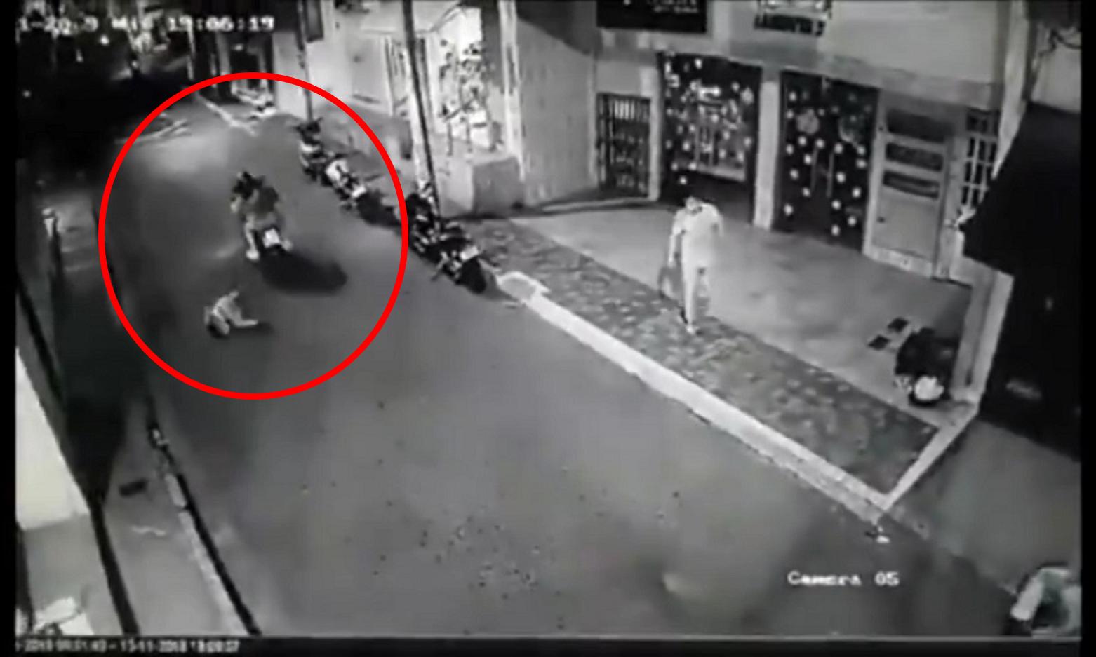 Motociclista arrolló a un niño en Piedecuesta y huyó del lugar   EL FRENTE