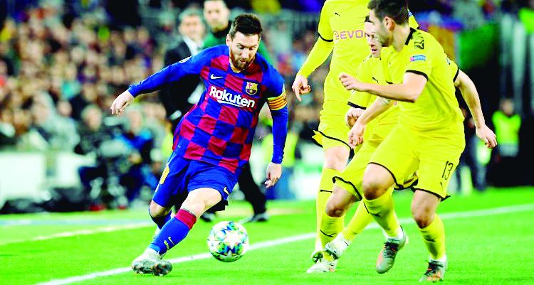Barcelona vence 3-1 al Dortmund y llega a octavos de final  | Internacional | Deportes | EL FRENTE