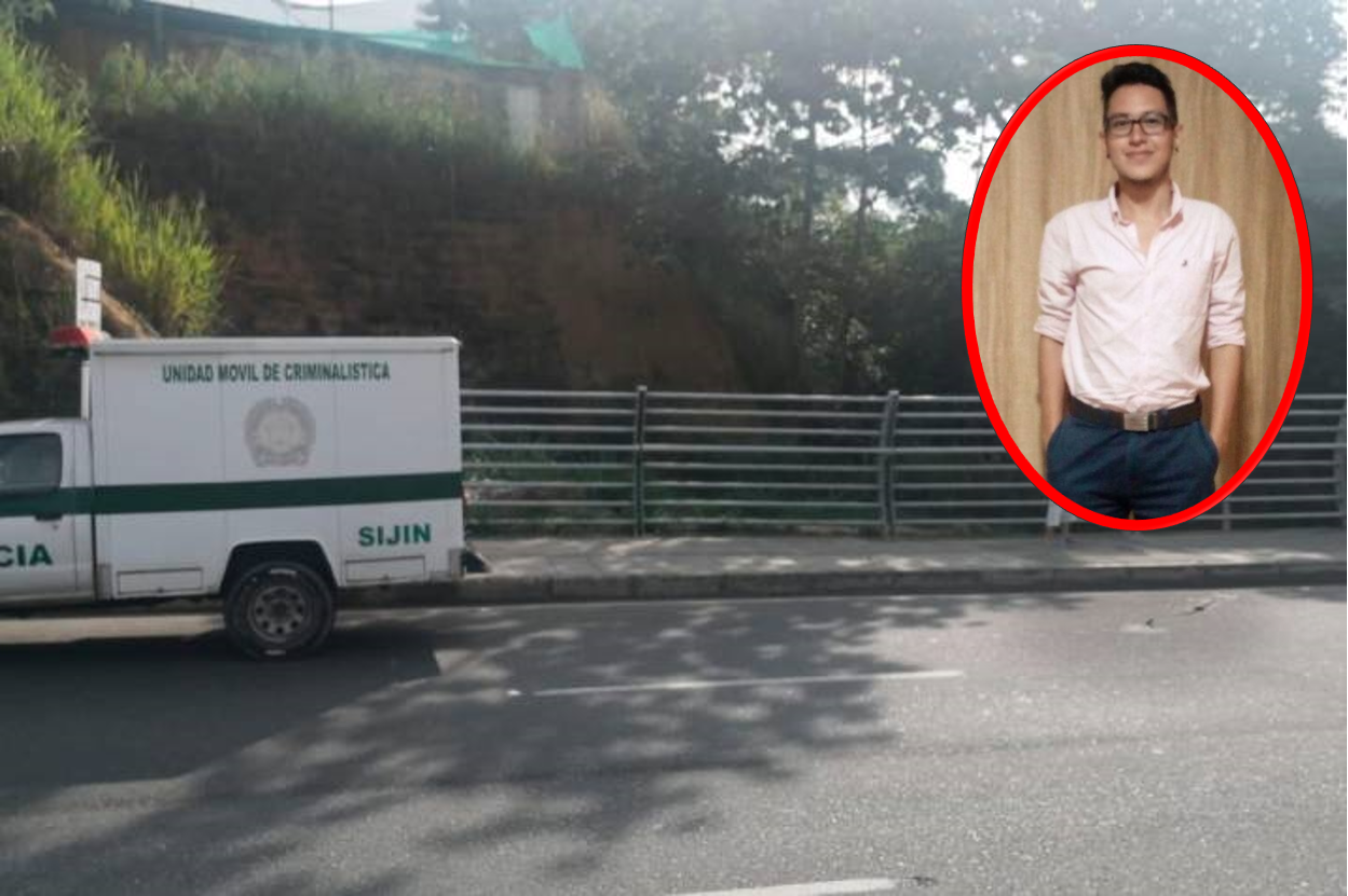 Hallan cuerpo sin vida de estudiante en el puente La Novena de Bucaramanga   EL FRENTE