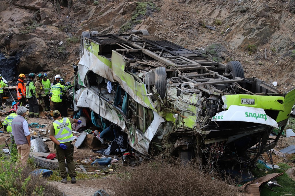 Dos colombianos entre las víctimas mortales del accidente de bus en Chile   EL FRENTE