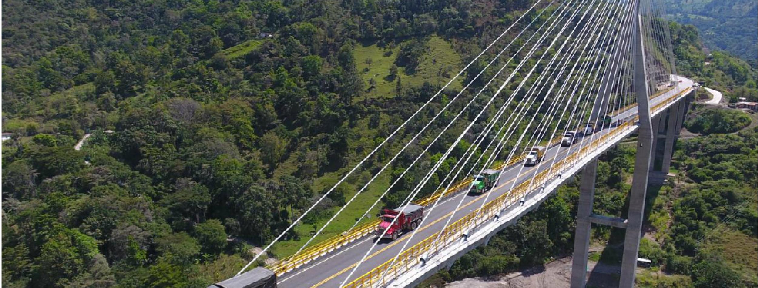 Llegó final de año y el puente Hisgaura es un gran elefante en Santander   | Santander | EL FRENTE