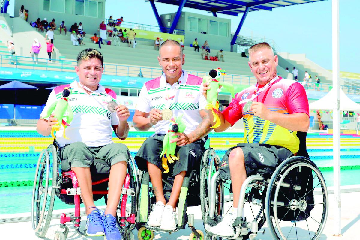 51 medallas de oro logra el deporte paranacional de Santander | Local | Deportes | EL FRENTE