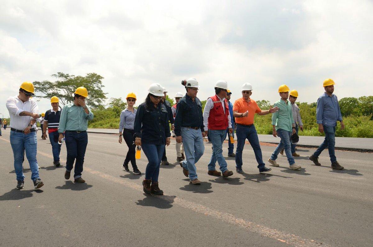 Tramo Cero será entregado el 20 de diciembre. Avance del 97 por ciento en obras de la Vía Yuma | Santander | EL FRENTE