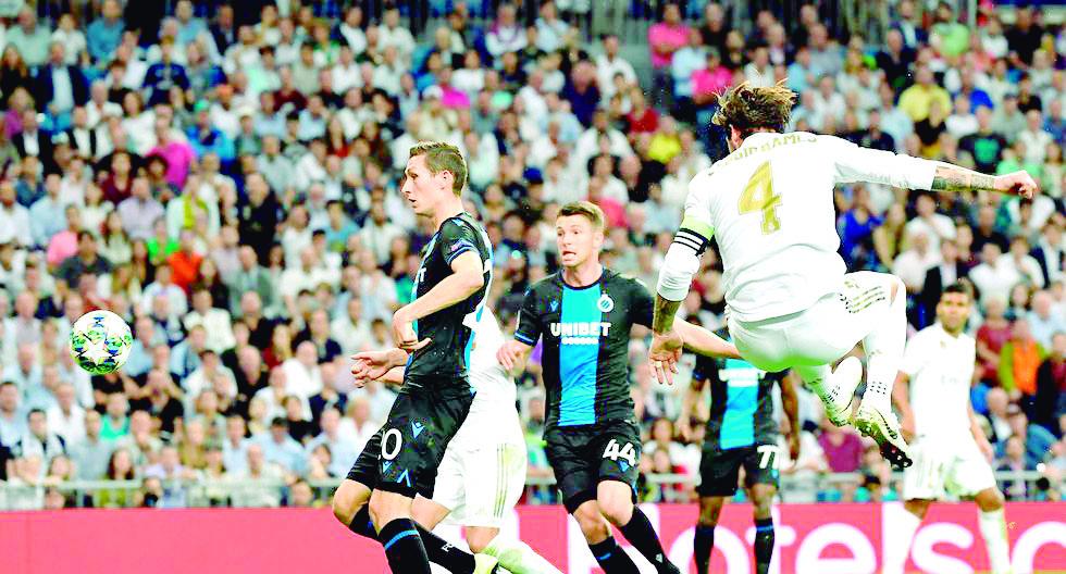 Real Madrid derrotó 3-1 al Brujas por Champions  | Internacional | Deportes | EL FRENTE