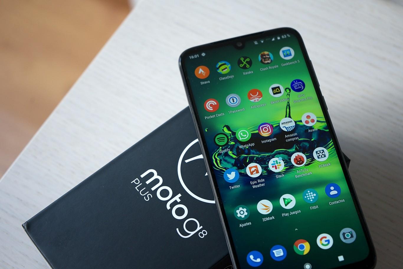 Moto G8 Plus: el titán de Motorola | Variedades | EL FRENTE