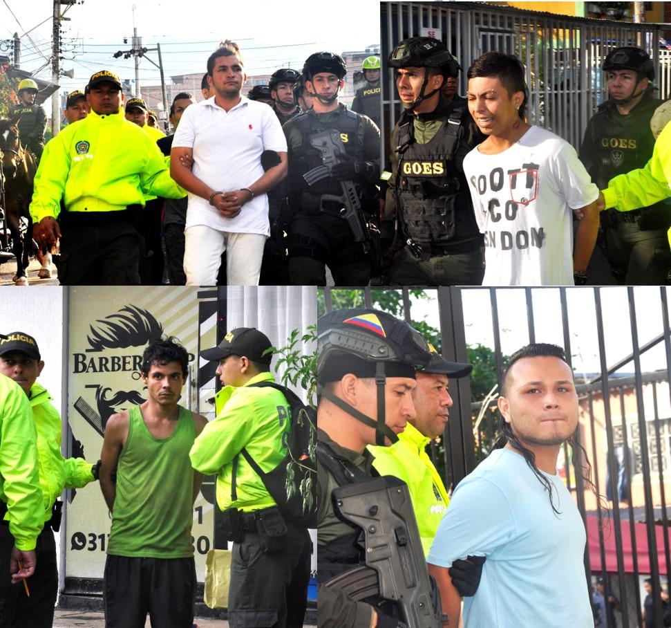 Llegó el Aguinaldo al barrio Los Colorados con 23 capturas | EL FRENTE