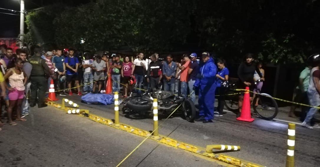 Imprudencia en la vía dejó un motociclista muerto  | Justicia | EL FRENTE