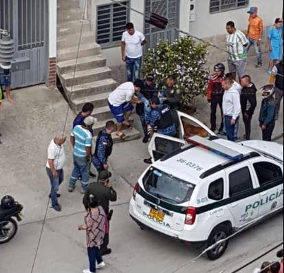 Video. Preso se voló y terminó herido tras su recaptura   EL FRENTE