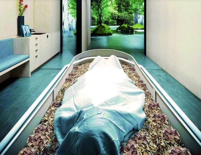 Compostaje humano propuesta en EE. UU., gran opción para generar vida después de la muerte | EL FRENTE