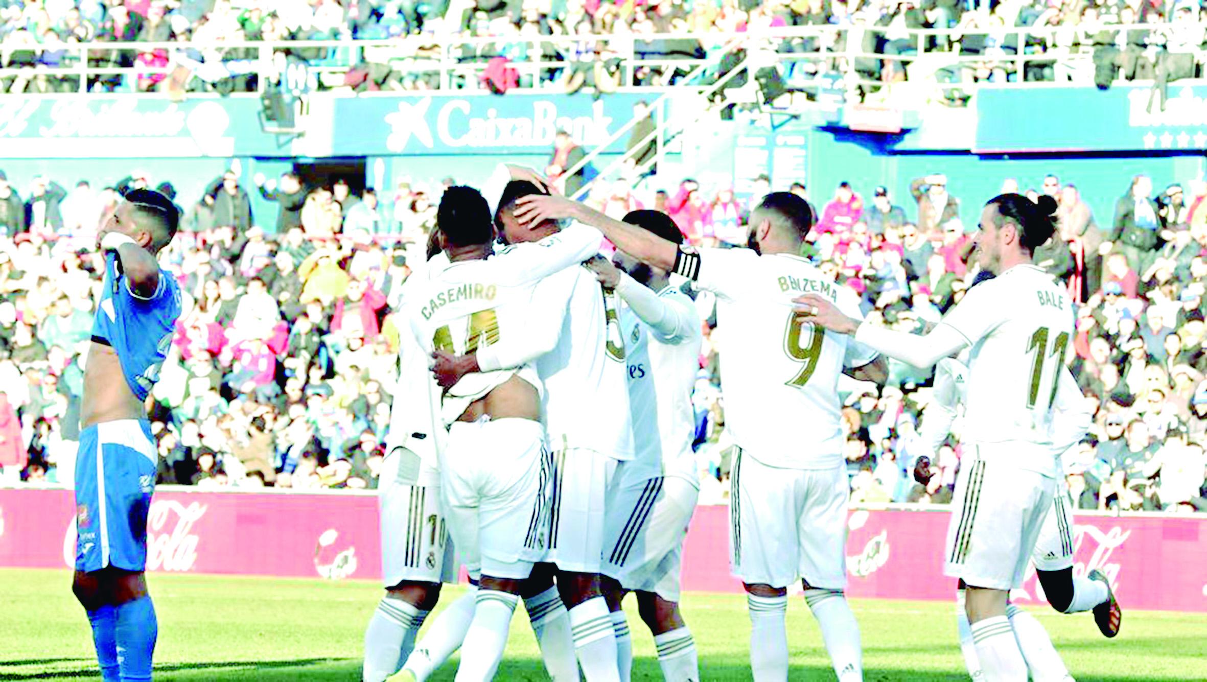 Real Madrid goleó 3-0 al Getafe   Internacional   Deportes   EL FRENTE