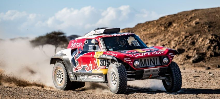 Sainz gana tercera etapa del Dakar    Internacional   Deportes   EL FRENTE