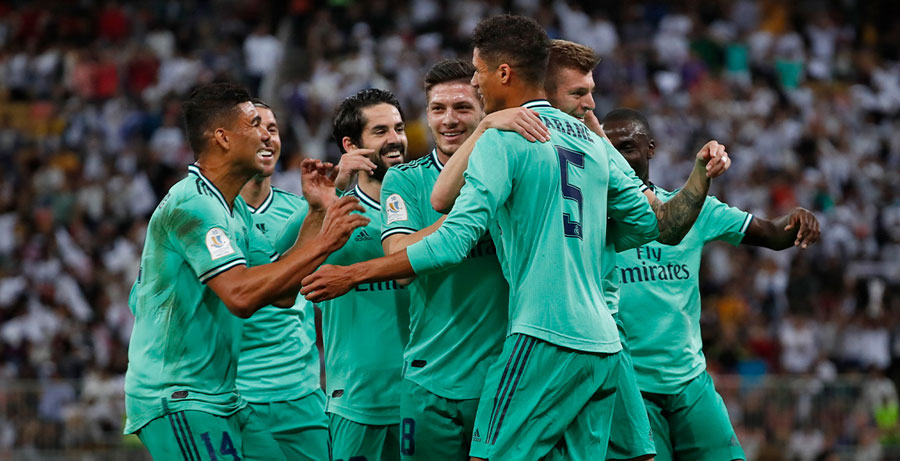 Real Madrid finalista de la Supercopa de España   Internacional   Deportes   EL FRENTE