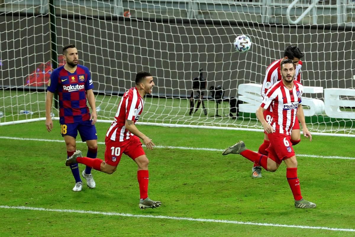 Atlético Madrid eliminó al Barcelona de la Supercopa   Internacional   Deportes   EL FRENTE