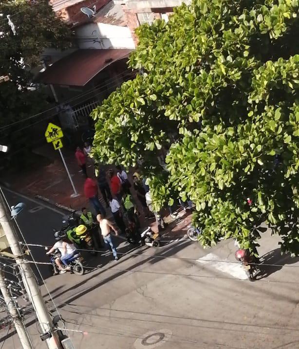 Ampliación. Vigilante herido en el barrio Nuevo Sotomayor | EL FRENTE