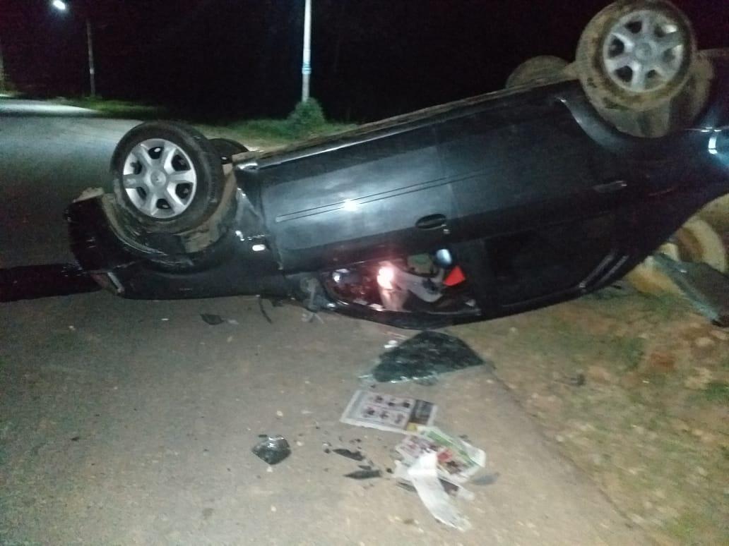 Una persona herida deja accidente de tránsito en la vía Sogamoso – Puerto Wilches | EL FRENTE