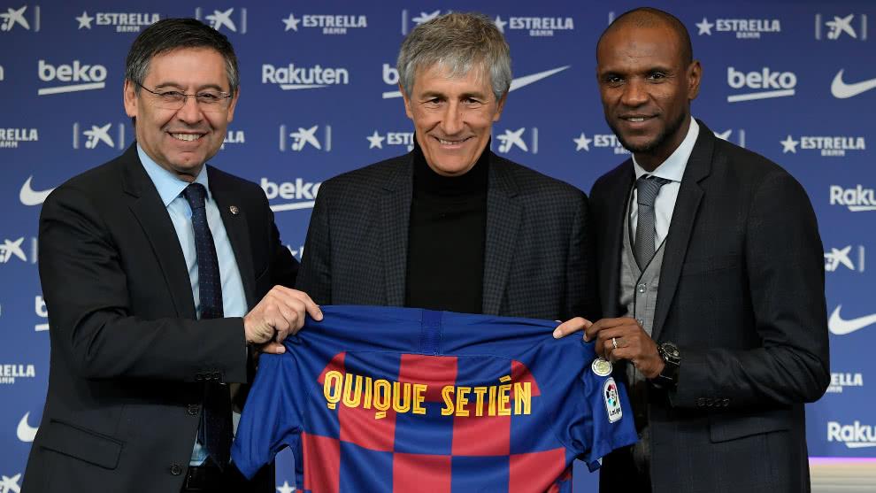 Quique Setién asume como entrenador del Barcelona | EL FRENTE