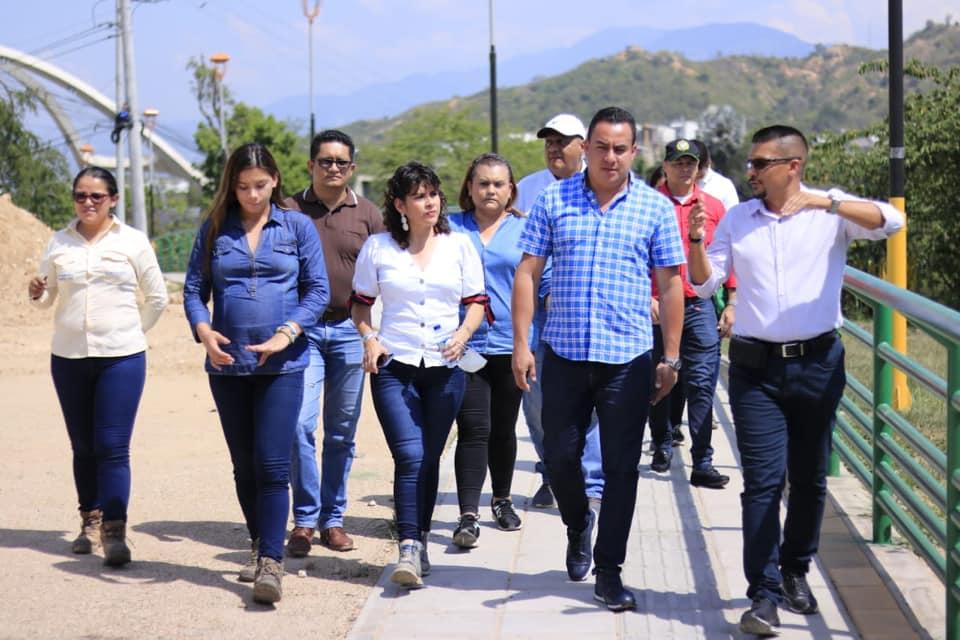 Más zonas de esparcimientos. El objetivo del alcalde Carlos Román | EL FRENTE