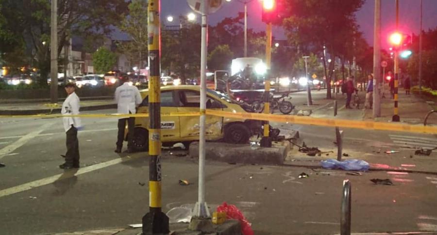 Taxista ebrio chocó contra dos motociclistas. Uno de ellos murió | Nacional | Justicia | EL FRENTE