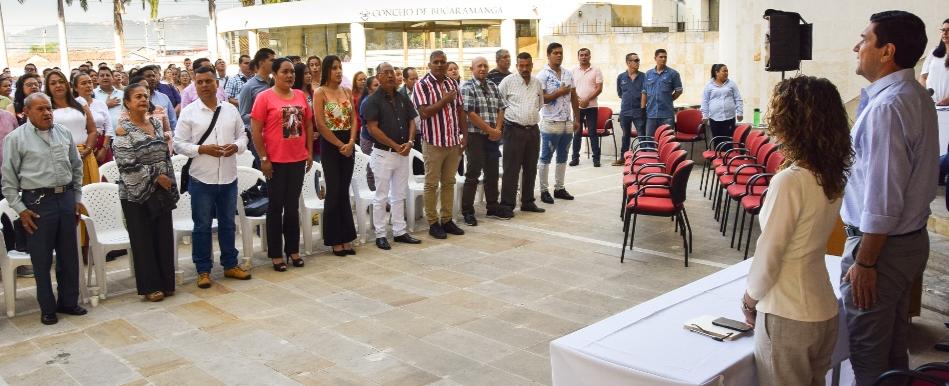 Nuevo cuerpo edilicio de Bucaramanga asumió funciones  | Política | EL FRENTE