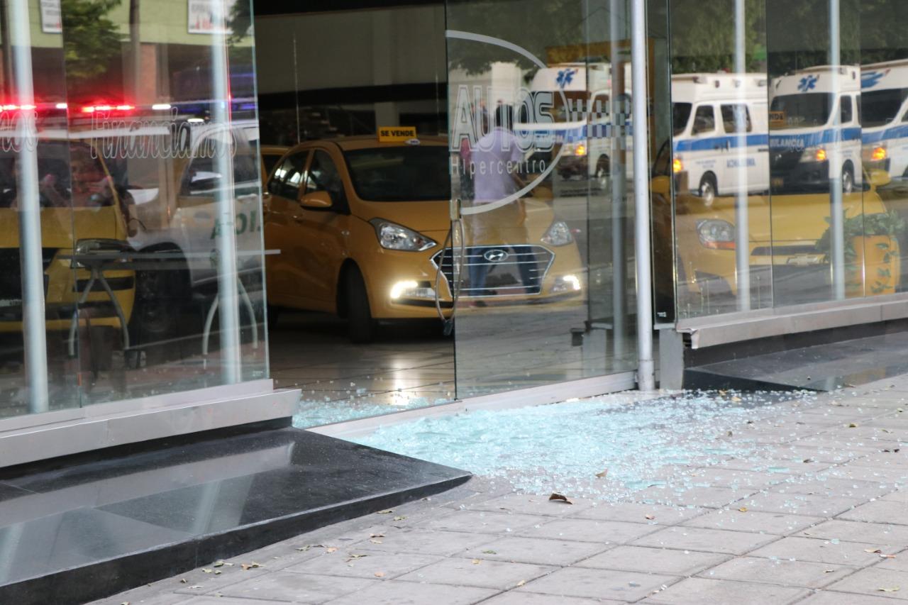Manifestaciones por el paro del 21 de enero dejaron varios daños en establecimientos comerciales | Local | Justicia | EL FRENTE