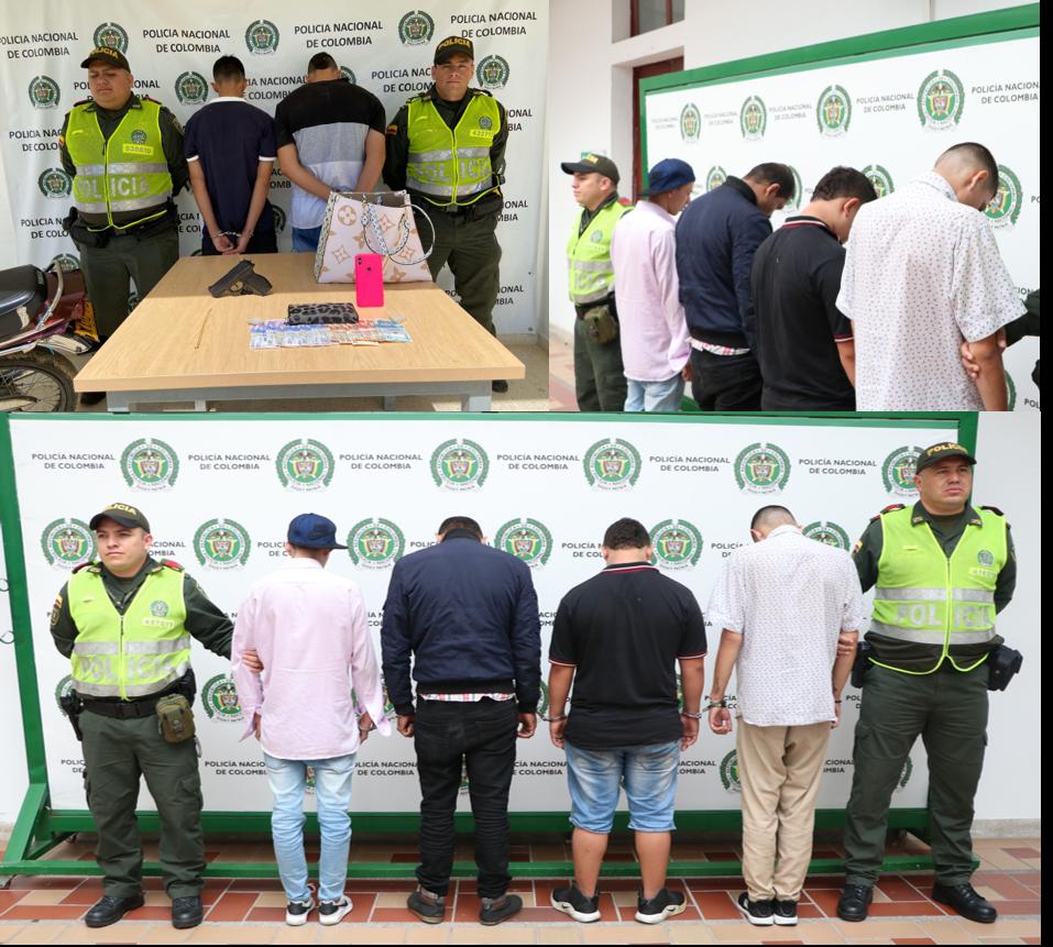 Capturados seis hombres que atacaban a sus víctimas con arma de fuego | Local | Justicia | EL FRENTE