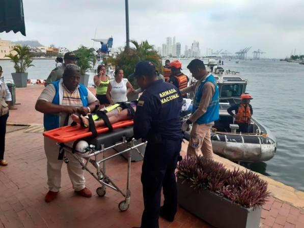 Siguen los accidentes en Playa Blanca: una menor resultó herida | Colombia | EL FRENTE