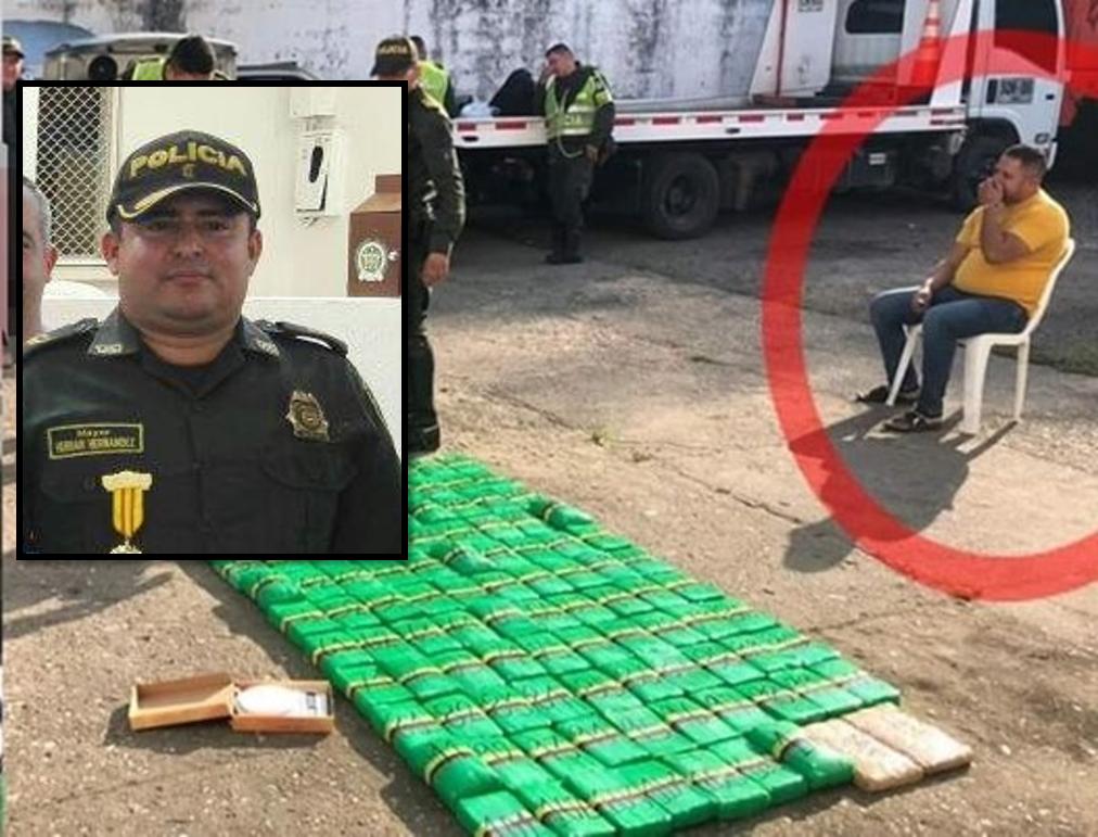 Con droga fue capturado excomandante de la policía en el Huila | EL FRENTE