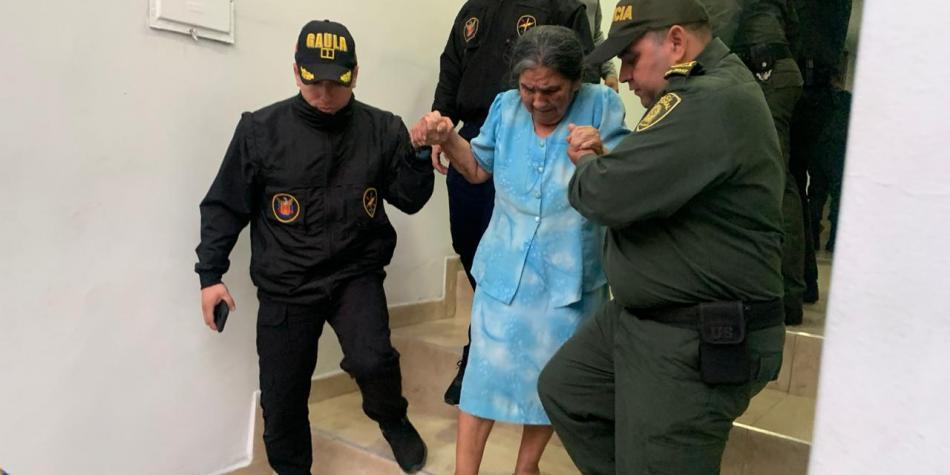 Adulta mayor fue rescatada después de 76 días de secuestro | EL FRENTE