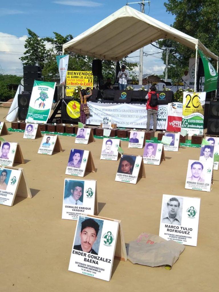 Reparación integral en Barrancabermeja. Espacio de diálogo abierto con Mesa de las Víctimas  | EL FRENTE