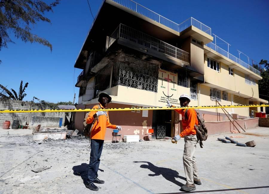 Fatal incendio de orfanato deja 15 niños muertos    EL FRENTE