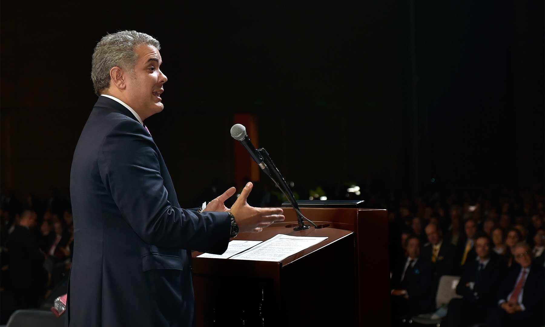 """""""A mí no me intimida ningún corrupto"""": Presidente Duque   EL FRENTE"""