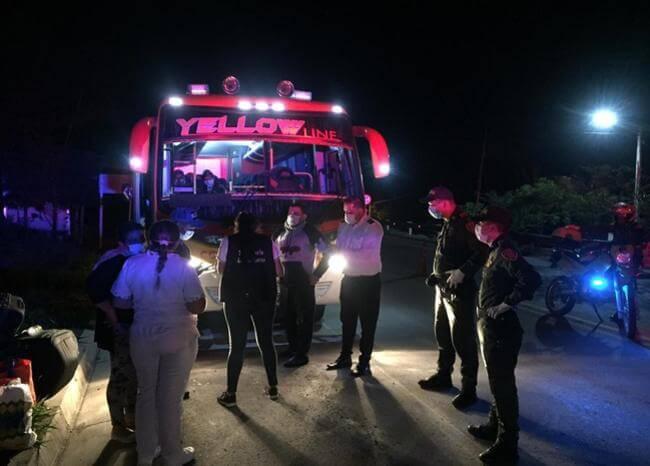 Decenas de viajeros que entraban a Santander fueron sorprendidos por las autoridades   EL FRENTE