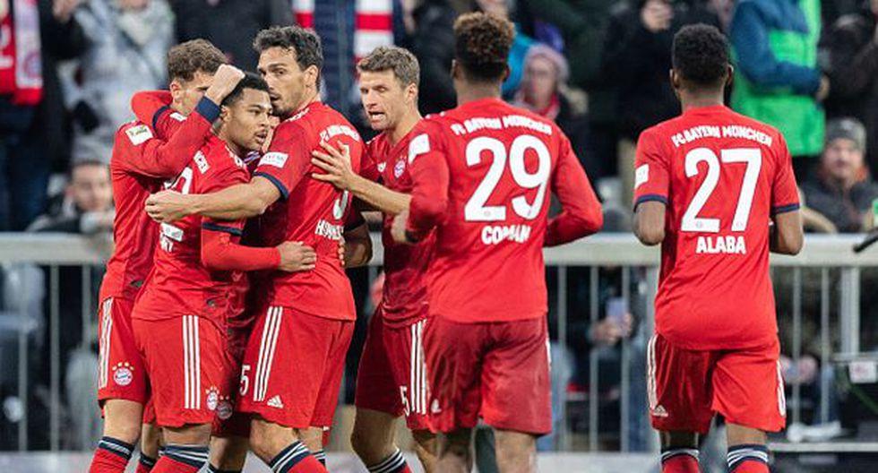 Jugadores del Bayern Múnich se reducen sus sueldos    EL FRENTE