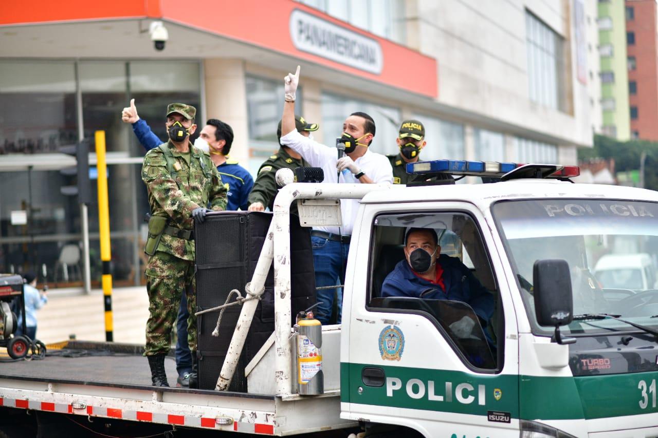 Se exige mayor responsabilidad la que gente no debe salir durante cuarentena en Santander | EL FRENTE