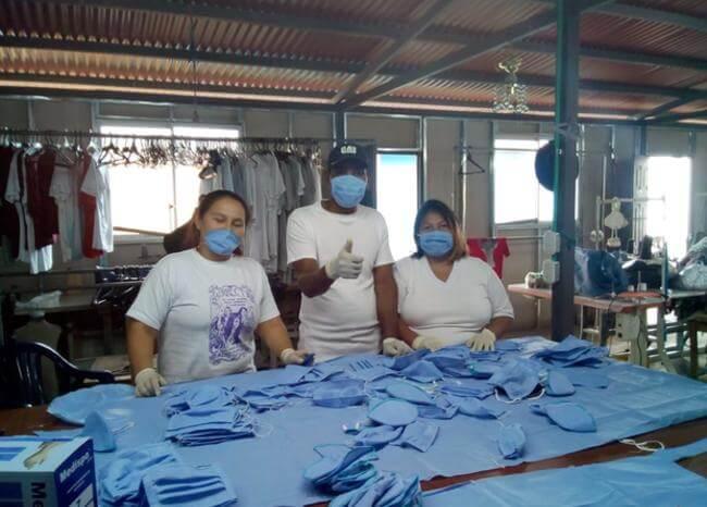 Excombatientes Farc fabrican tapabocas  | EL FRENTE