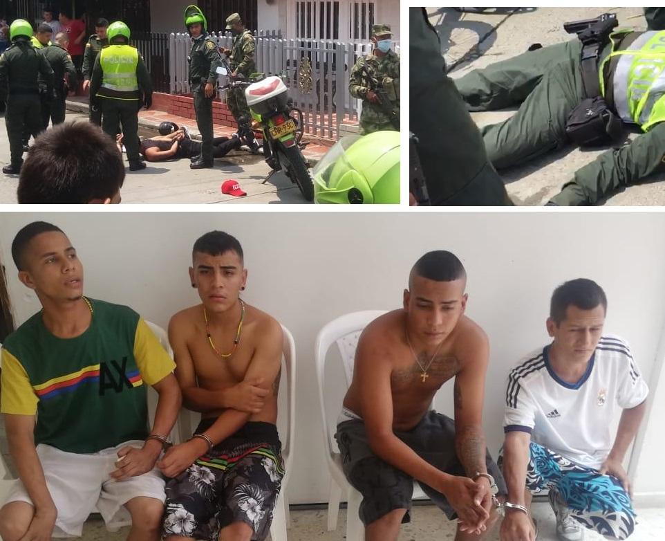 Capturan venezolanos que hirieron en la cara a un policía  | EL FRENTE