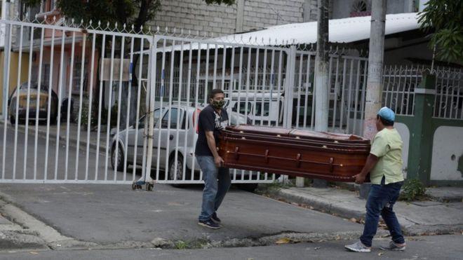 En Ecuador luchan a contrarreloj para darle un entierro digno a los muertos por Covid-19 | Noticias | Mundo | EL FRENTE
