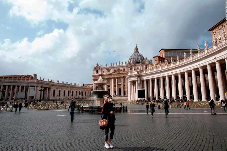 El Vaticano reportó el séptimo caso de Covid-19 | Noticias | Mundo | EL FRENTE
