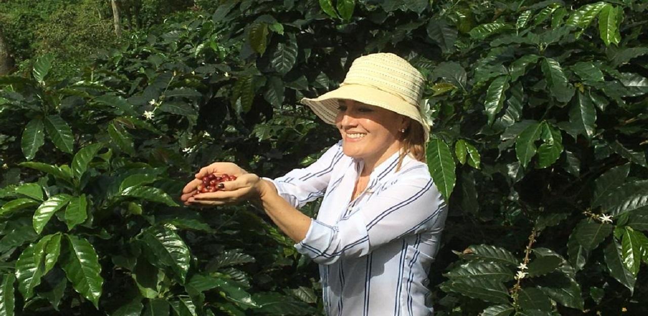 Experiencia exportadora de Café Hacienda Casa Blanca en el Primer Global Talks CCB | Local | Economía | EL FRENTE